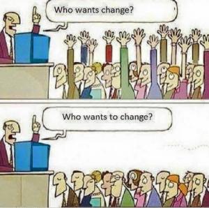 Who wants change v2